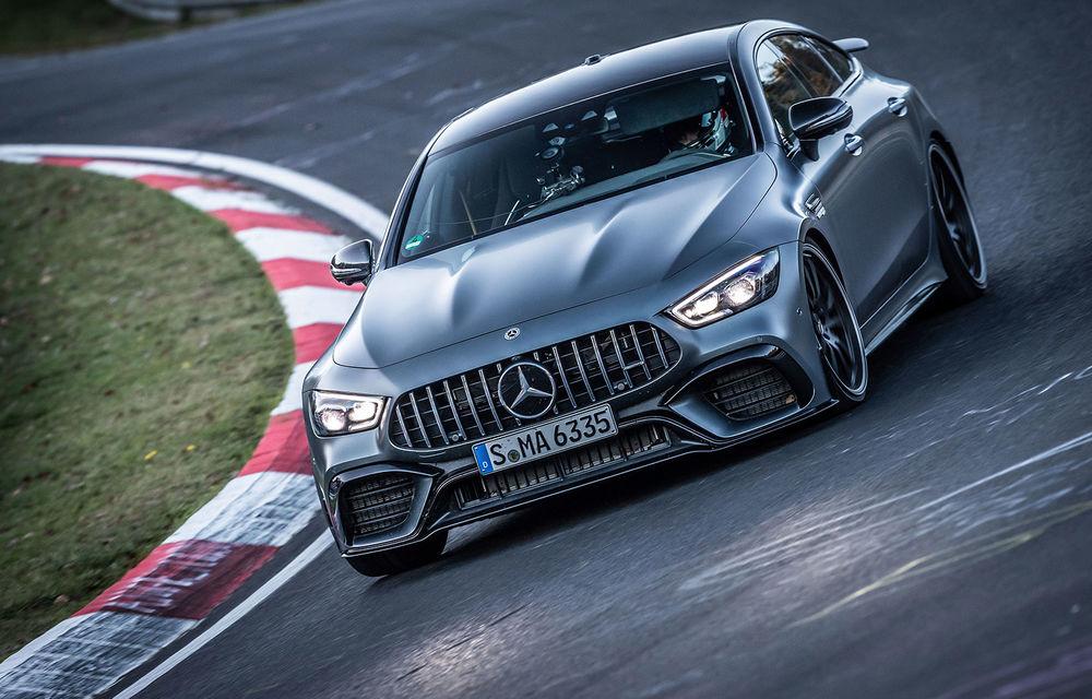 Versiunea cu patru uși a lui Mercedes-AMG GT stabilește un nou record pe Nurburgring: AMG GT 63 S a devenit cel mai rapid model de serie cu 4 locuri de pe Iadul Verde - Poza 1