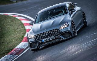 Versiunea cu patru uși a lui Mercedes-AMG GT stabilește un nou record pe Nurburgring: AMG GT 63 S a devenit cel mai rapid model de serie cu 4 locuri de pe Iadul Verde