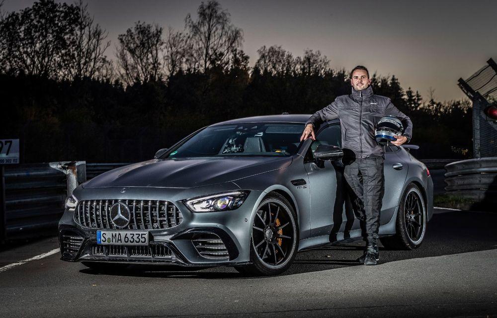 Versiunea cu patru uși a lui Mercedes-AMG GT stabilește un nou record pe Nurburgring: AMG GT 63 S a devenit cel mai rapid model de serie cu 4 locuri de pe Iadul Verde - Poza 6