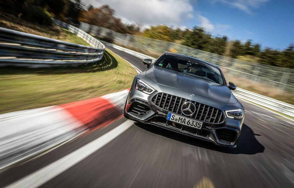 Versiunea cu patru uși a lui Mercedes-AMG GT stabilește un nou record pe Nurburgring: AMG GT 63 S a devenit cel mai rapid model de serie cu 4 locuri de pe Iadul Verde - Poza 3