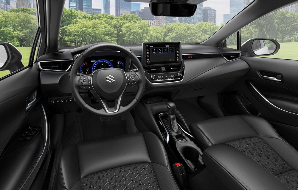 Suzuki lansează break-ul compact Swace: modelul are la bază actuala generație Toyota Corolla Touring Sports și poate fi comandat în Marea Britanie - Poza 4