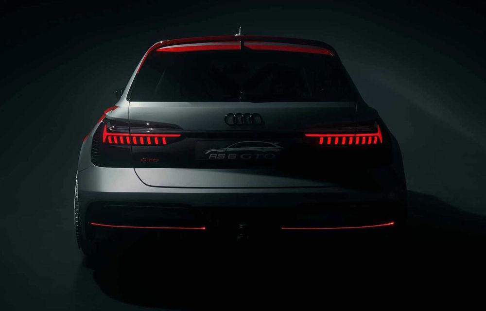 Audi aniversează 40 de ani de la introducerea sistemului quattro: nemții au lansat proiectul RS6 GTO, un vehicul inspirat de vehicul Audi 90 Quattro IMSA GTO - Poza 2