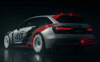 Audi aniversează 40 de ani de la introducerea sistemului quattro: nemții au lansat proiectul RS6 GTO, un vehicul inspirat de vehicul Audi 90 Quattro IMSA GTO