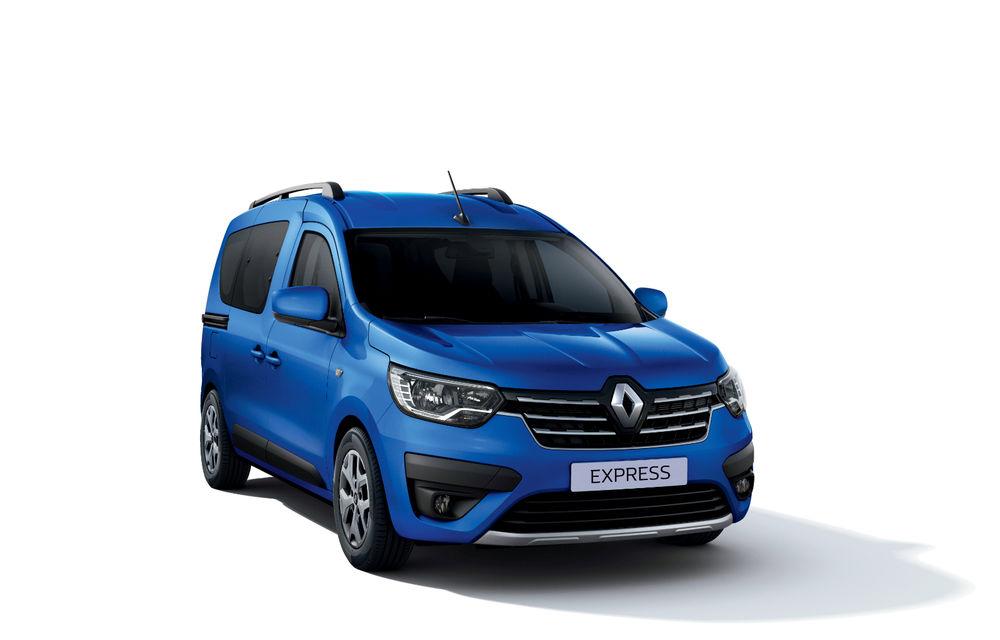 Actualizare în gama de utilitare Renault: noul Kangoo va avea versiune electrică, iar Dacia Dokker devine Renault Express - Poza 11