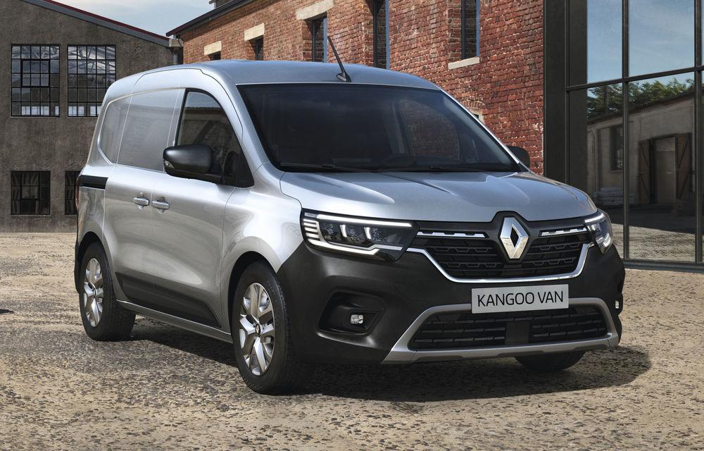 Actualizare în gama de utilitare Renault: noul Kangoo va avea versiune electrică, iar Dacia Dokker devine Renault Express - Poza 2