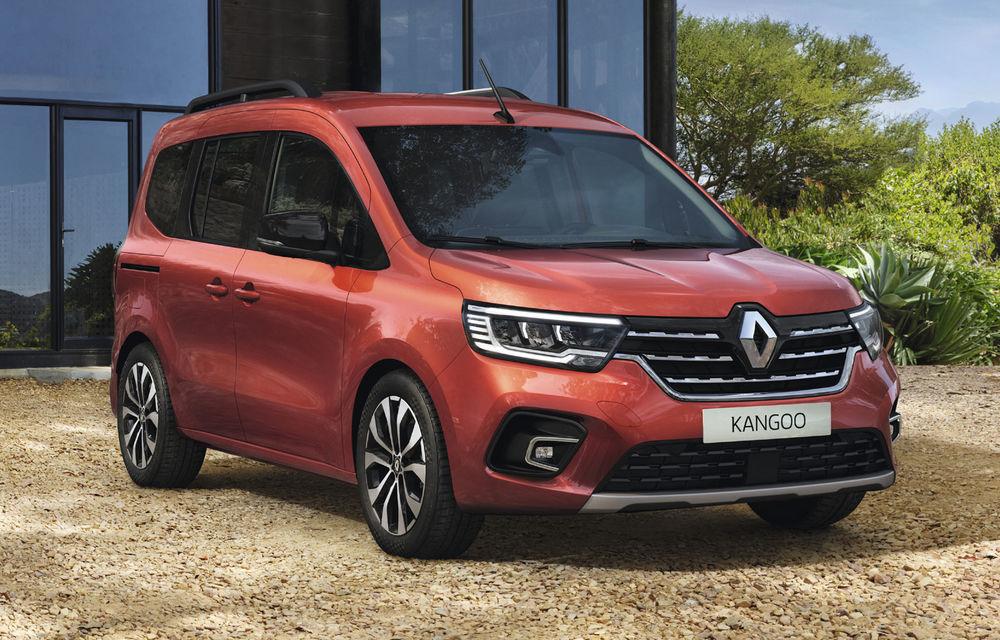 Actualizare în gama de utilitare Renault: noul Kangoo va avea versiune electrică, iar Dacia Dokker devine Renault Express - Poza 5
