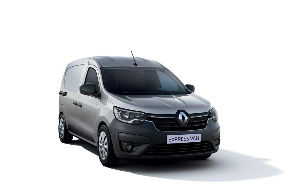 Actualizare în gama de utilitare Renault: noul Kangoo va avea versiune electrică, iar Dacia Dokker devine Renault Express - Poza 9