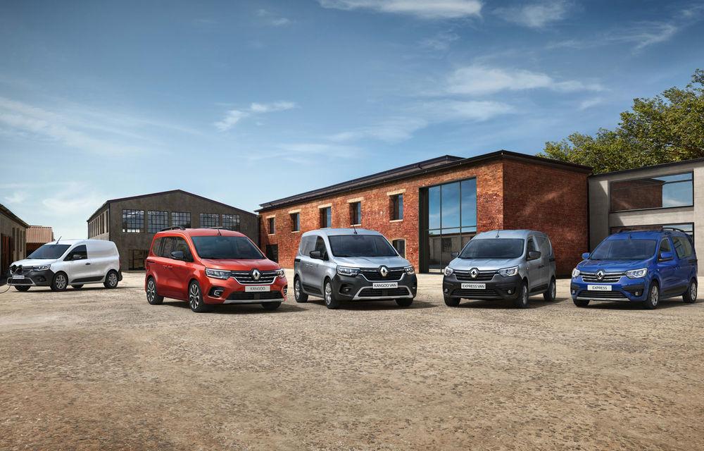 Actualizare în gama de utilitare Renault: noul Kangoo va avea versiune electrică, iar Dacia Dokker devine Renault Express - Poza 1