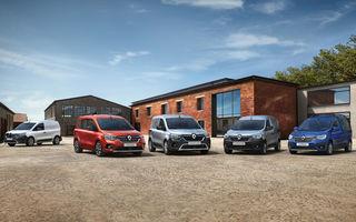 Actualizare în gama de utilitare Renault: noul Kangoo va avea versiune electrică, iar Dacia Dokker devine Renault Express