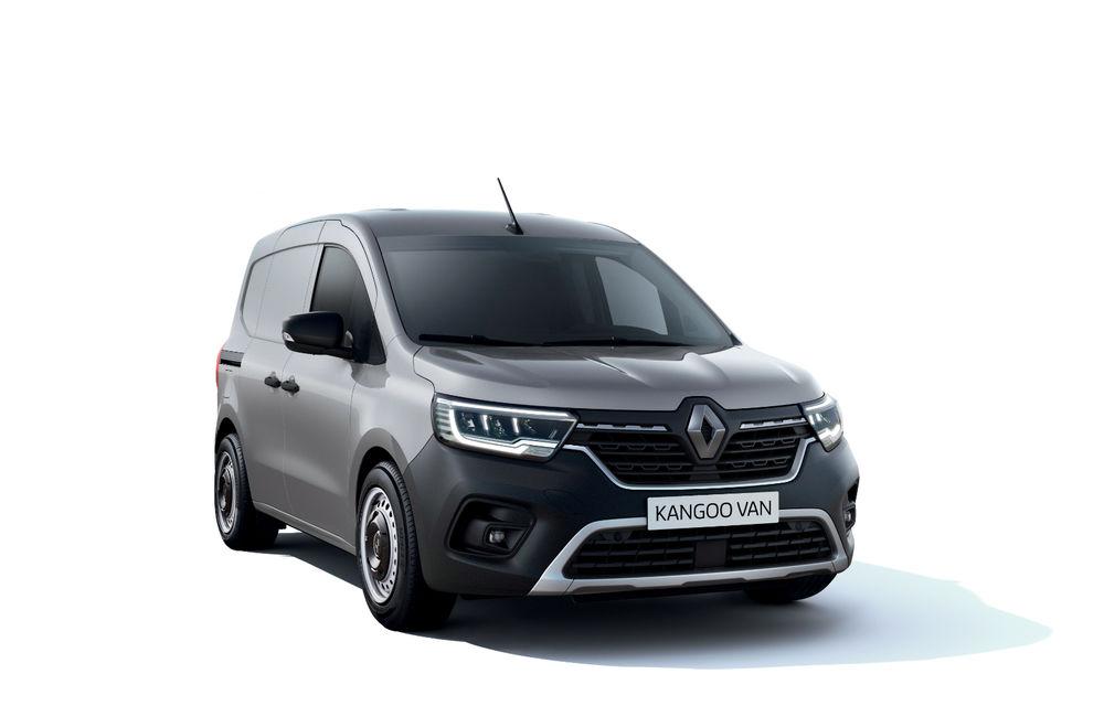 Actualizare în gama de utilitare Renault: noul Kangoo va avea versiune electrică, iar Dacia Dokker devine Renault Express - Poza 3