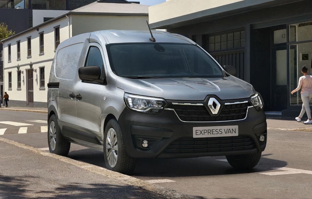 Actualizare în gama de utilitare Renault: noul Kangoo va avea versiune electrică, iar Dacia Dokker devine Renault Express - Poza 8