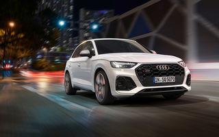 Audi a prezentat SQ5 TDI facelift: motor V6 de 3.0 litri cu 341 de cai putere și sistem mild-hybrid la 48V