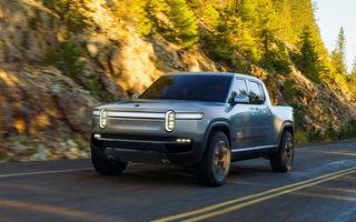 Rivian deschide pre-comenzile pentru pick-up-ul R1T și SUV-ul R1S: livrările încep în vara anului viitor