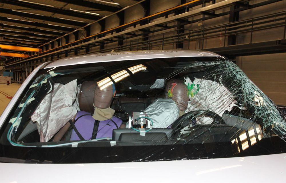 Teste Euro NCAP: SUV-ul electric Mazda MX-30 și noua generație Honda Jazz au obținut 5 stele la testele de siguranță - Poza 15