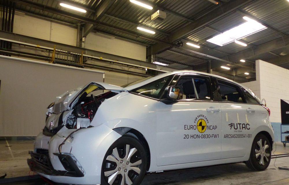 Teste Euro NCAP: SUV-ul electric Mazda MX-30 și noua generație Honda Jazz au obținut 5 stele la testele de siguranță - Poza 8