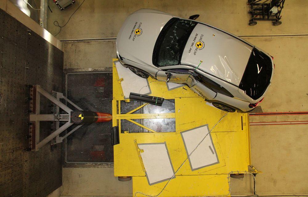 Teste Euro NCAP: SUV-ul electric Mazda MX-30 și noua generație Honda Jazz au obținut 5 stele la testele de siguranță - Poza 17