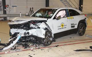 Teste Euro NCAP: SUV-ul electric Mazda MX-30 și noua generație Honda Jazz au obținut 5 stele la testele de siguranță