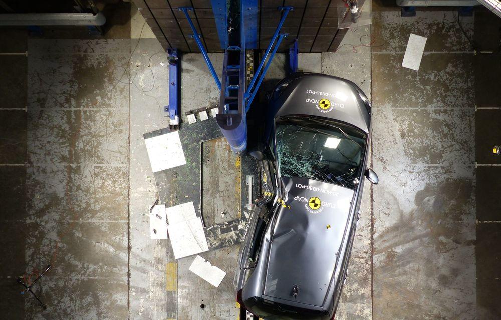 Teste Euro NCAP: SUV-ul electric Mazda MX-30 și noua generație Honda Jazz au obținut 5 stele la testele de siguranță - Poza 4
