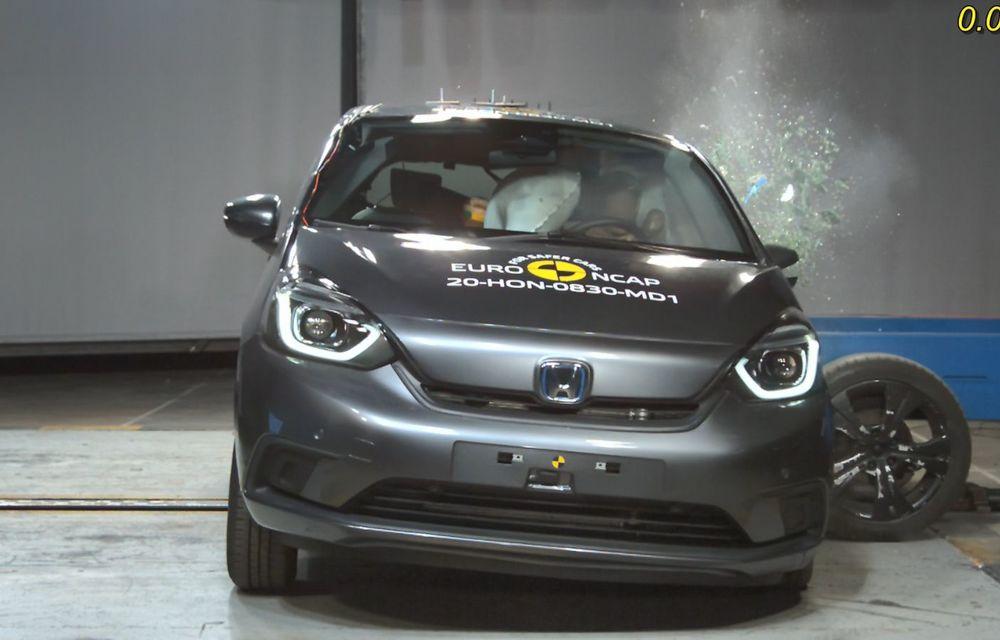 Teste Euro NCAP: SUV-ul electric Mazda MX-30 și noua generație Honda Jazz au obținut 5 stele la testele de siguranță - Poza 3