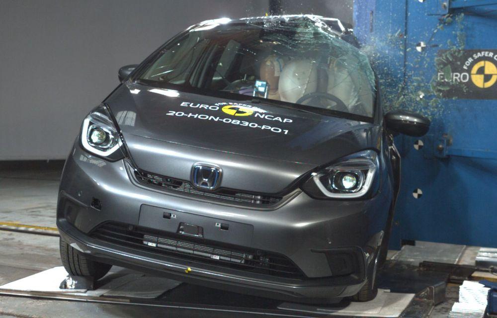 Teste Euro NCAP: SUV-ul electric Mazda MX-30 și noua generație Honda Jazz au obținut 5 stele la testele de siguranță - Poza 5