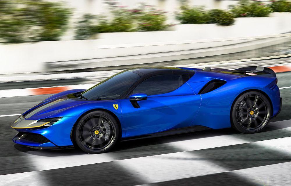 Ferrari a prezentat noul SF90 Spider: plafon hard top care poate fi coborât în 14 secunde și sistem plug-in hybrid de propulsie cu 1.000 CP - Poza 7