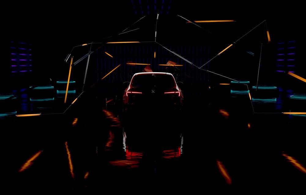De peste Ocean: teaser video cu prototipul viitoarei generații Honda Civic Sedan - Poza 1