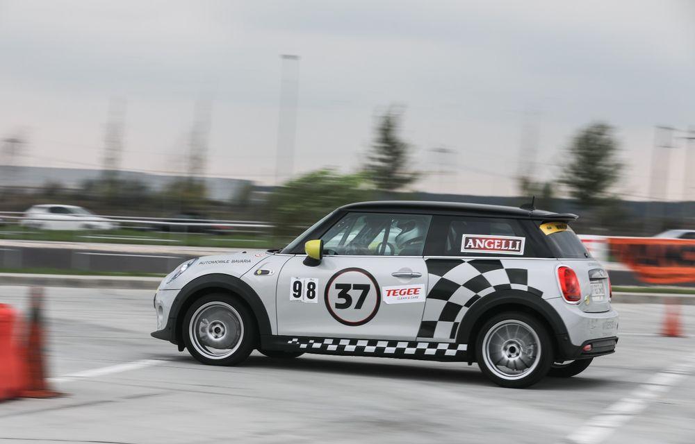 Întâlnire pe circuit cu Mini Electric Racing: modelul de competiție este dezvoltat 100% în România - Poza 59
