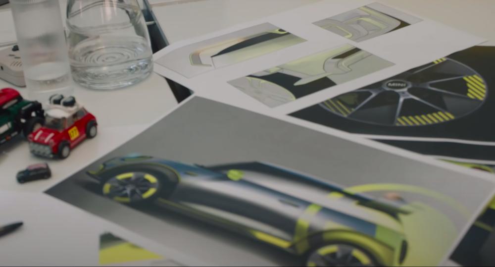 Primele schițe cu viitoarea versiune de performanță a lui Mini Cooper SE: imaginile cu modelul electric apar în cadrul documentarului Chasing iNext - Poza 2