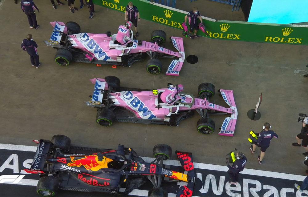 Lance Stroll, pole position pe ploaie în Turcia în fața lui Verstappen! Hamilton, doar locul 6 pentru Mercedes - Poza 2