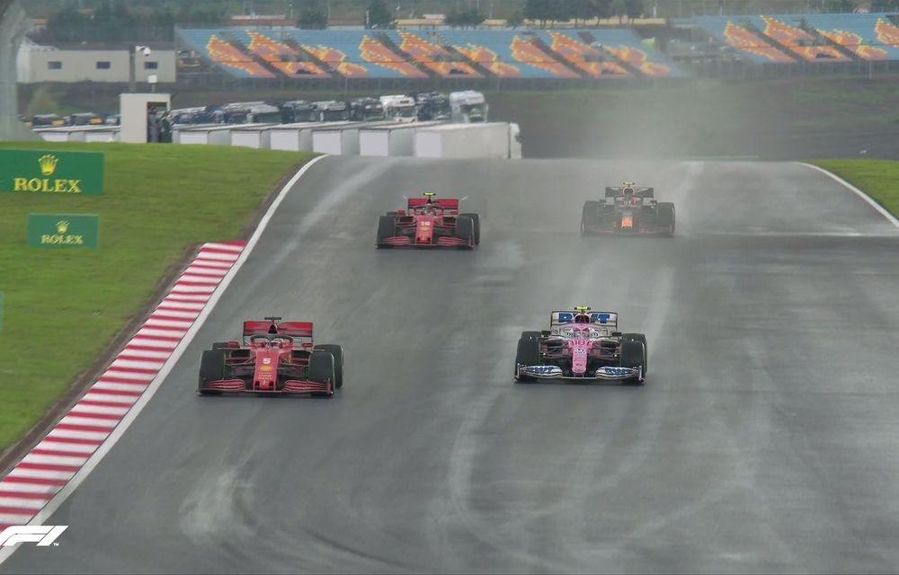 Hamilton a câștigat pe ploaie la Istanbul și a egalat recordul de 7 titluri deținut de Schumacher! Perez și Vettel, pe podium - Poza 7