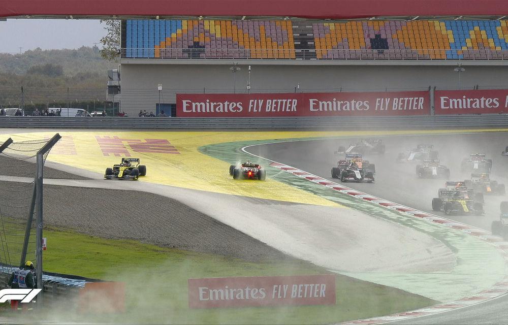 Hamilton a câștigat pe ploaie la Istanbul și a egalat recordul de 7 titluri deținut de Schumacher! Perez și Vettel, pe podium - Poza 3
