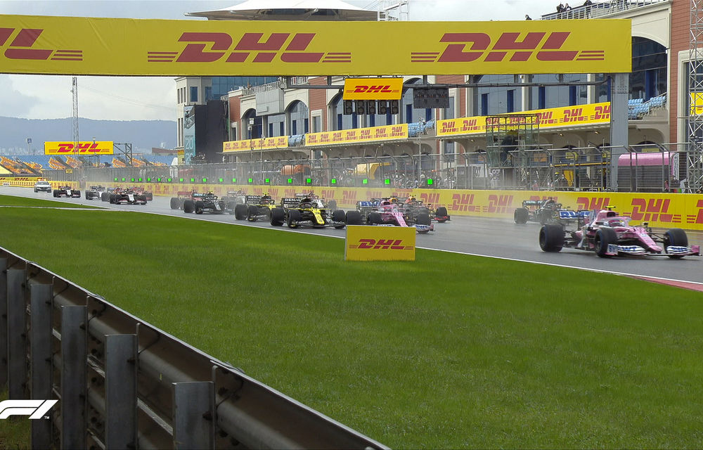 Hamilton a câștigat pe ploaie la Istanbul și a egalat recordul de 7 titluri deținut de Schumacher! Perez și Vettel, pe podium - Poza 2