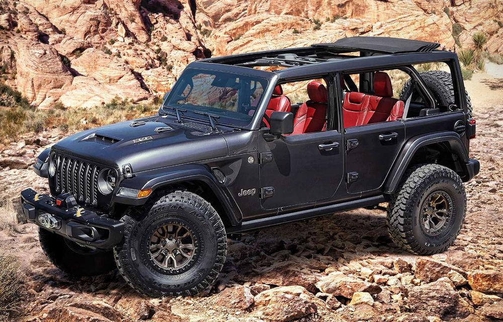 Primele teasere video cu viitorul Jeep Wrangler V8: modelul va fi disponibil din 2021 - Poza 1