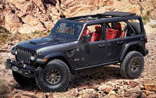 Primele teasere video cu viitorul Jeep Wrangler V8: modelul va fi disponibil din 2021