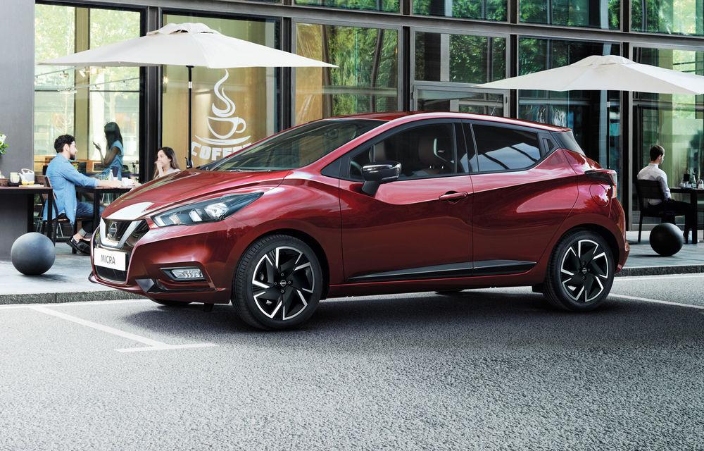 Nissan Micra primește actualizări pentru 2021: subcompacta va fi disponibilă cu nivelurile de echipare N-Sport și N-Design - Poza 1