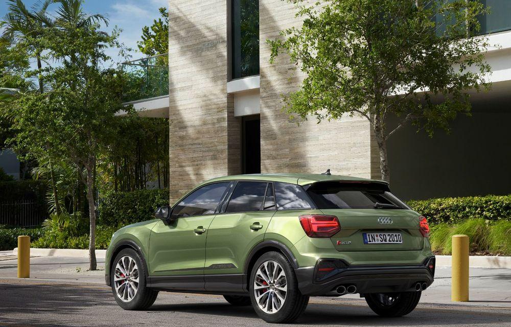 Audi a prezentat SQ2 facelift: modificări estetice, noutăți la interior și motor de 2.0 litri cu 300 CP - Poza 7