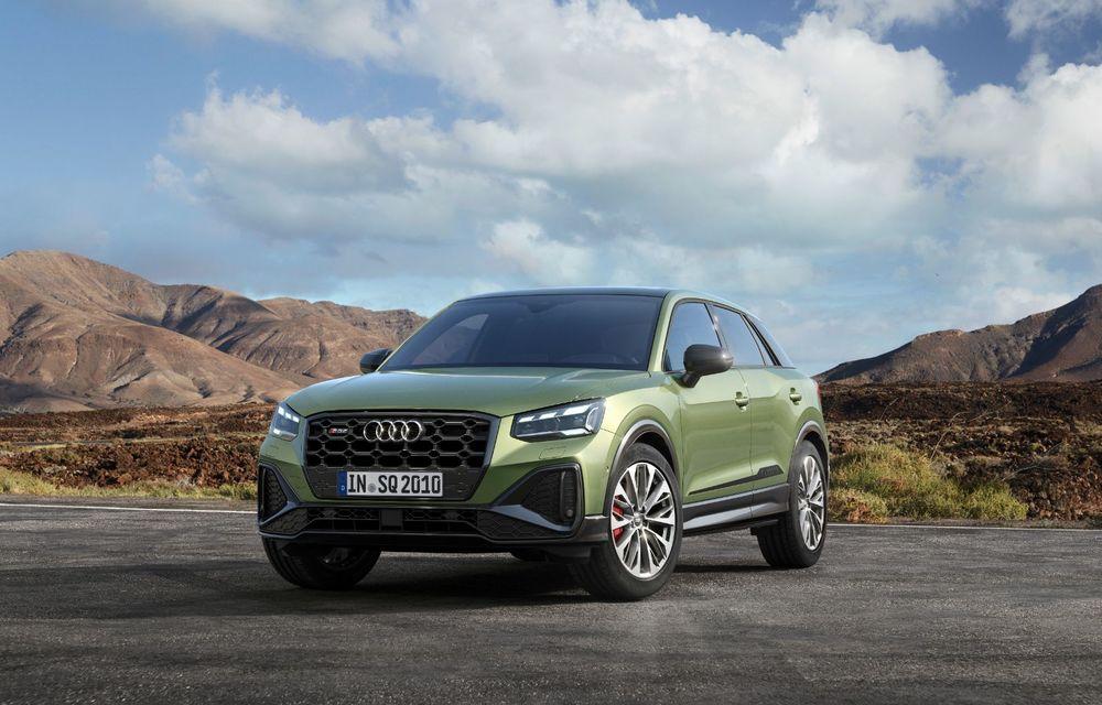 Audi a prezentat SQ2 facelift: modificări estetice, noutăți la interior și motor de 2.0 litri cu 300 CP - Poza 3