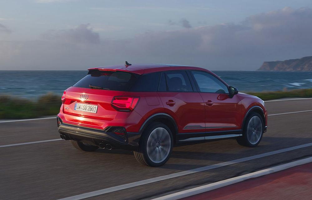 Audi a prezentat SQ2 facelift: modificări estetice, noutăți la interior și motor de 2.0 litri cu 300 CP - Poza 9