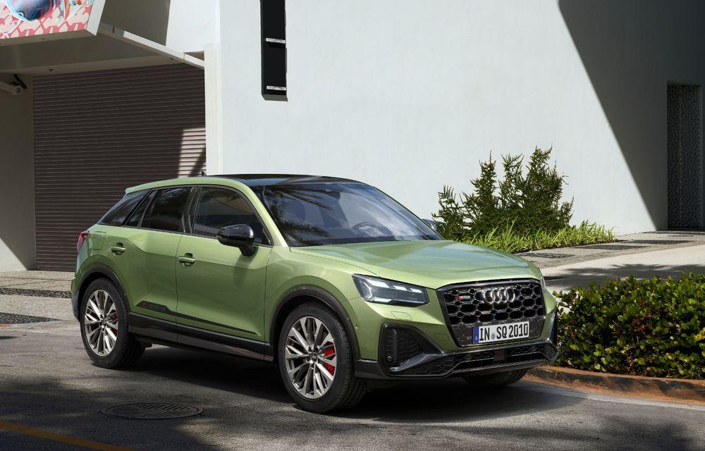 Audi a prezentat SQ2 facelift: modificări estetice, noutăți la interior și motor de 2.0 litri cu 300 CP - Poza 2