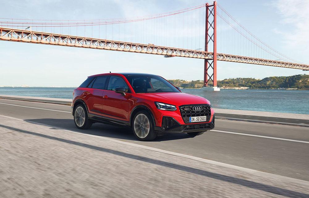 Audi a prezentat SQ2 facelift: modificări estetice, noutăți la interior și motor de 2.0 litri cu 300 CP - Poza 8