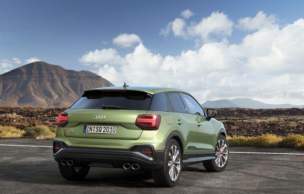 Audi a prezentat SQ2 facelift: modificări estetice, noutăți la interior și motor de 2.0 litri cu 300 CP - Poza 4