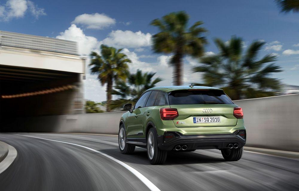 Audi a prezentat SQ2 facelift: modificări estetice, noutăți la interior și motor de 2.0 litri cu 300 CP - Poza 5