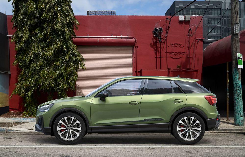 Audi a prezentat SQ2 facelift: modificări estetice, noutăți la interior și motor de 2.0 litri cu 300 CP - Poza 6