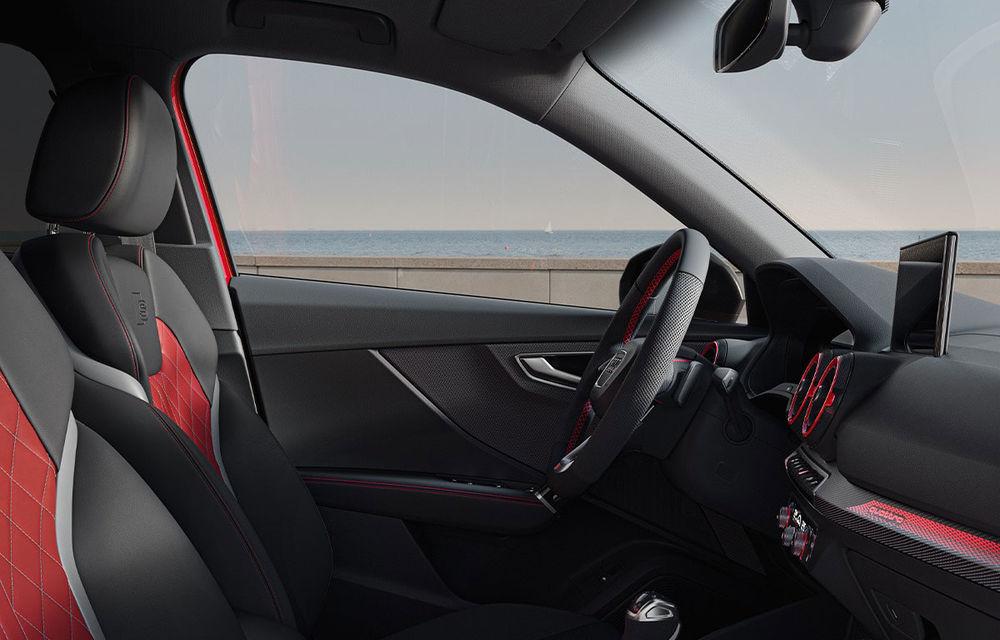 Audi a prezentat SQ2 facelift: modificări estetice, noutăți la interior și motor de 2.0 litri cu 300 CP - Poza 10