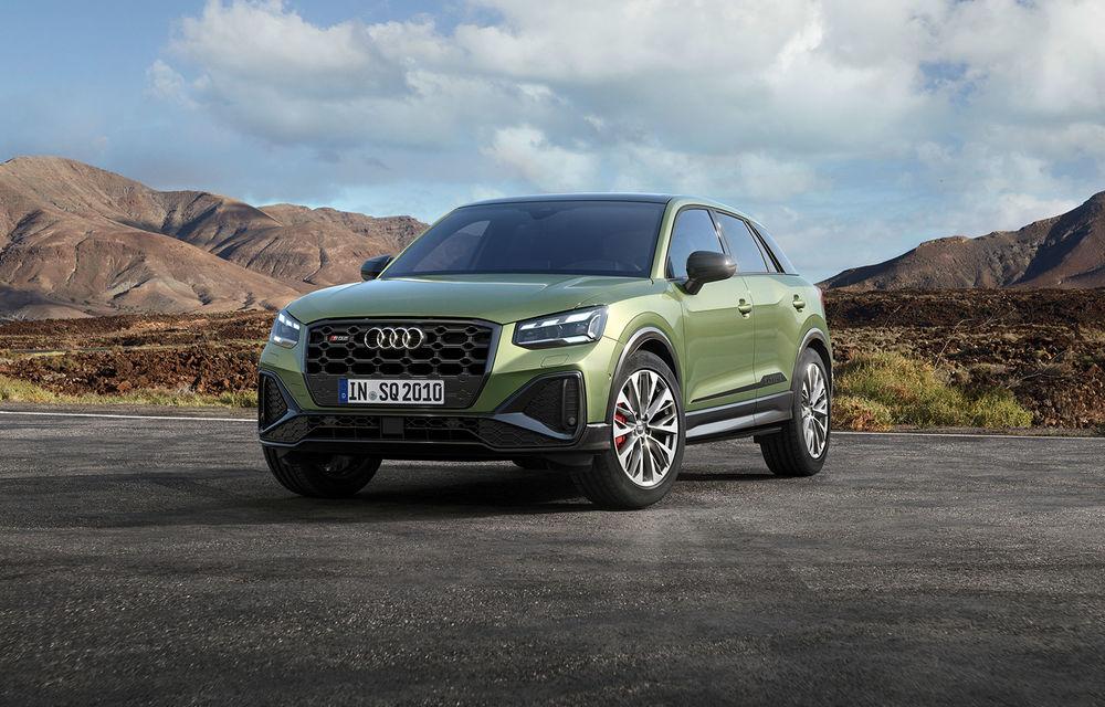 Audi a prezentat SQ2 facelift: modificări estetice, noutăți la interior și motor de 2.0 litri cu 300 CP - Poza 1