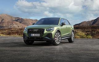 Audi a prezentat SQ2 facelift: modificări estetice, noutăți la interior și motor de 2.0 litri cu 300 CP