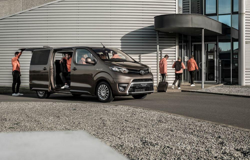 Toyota prezintă versiunea electrică a utilitarei Proace Verso: 136 de cai putere și autonomie de până la 330 de kilometri - Poza 3