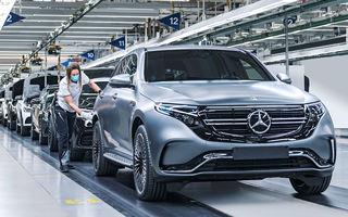 Mercedes-Benz introduce încărcare AC la 11 kW pentru SUV-ul electric EQC: echipamentul va fi disponibil standard