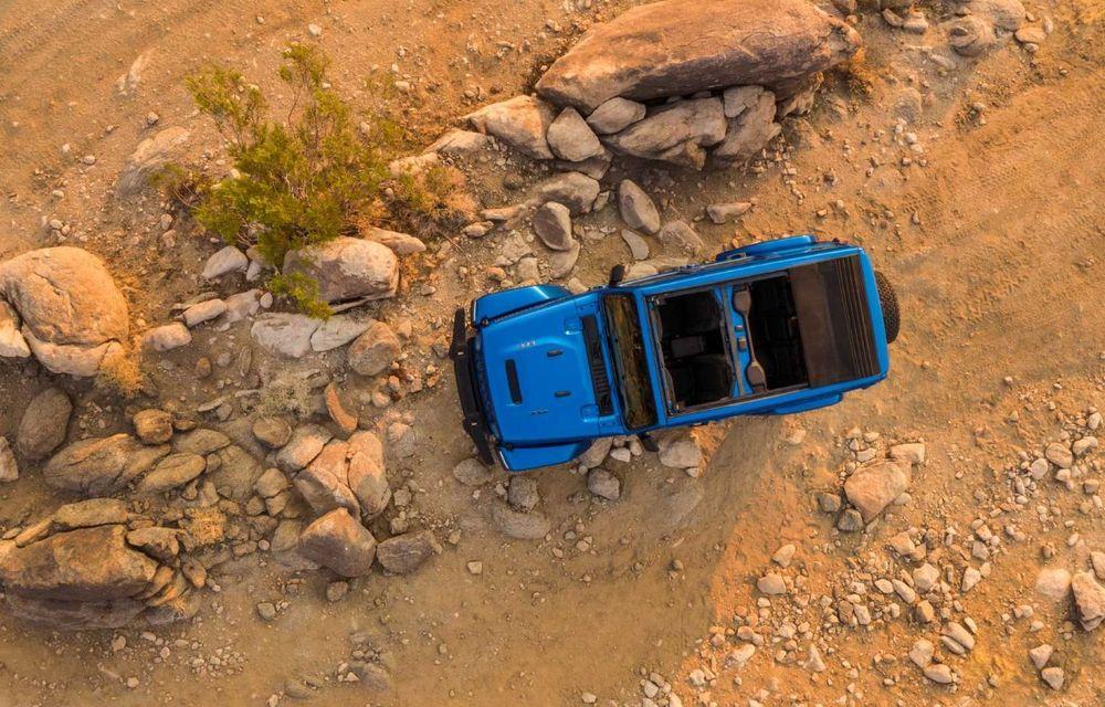 Jeep a prezentat noul Wrangler Rubicon 392: modelul este echipat cu un motor V8 cu 470 CP - Poza 12