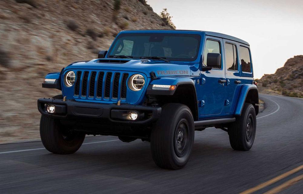 Jeep a prezentat noul Wrangler Rubicon 392: modelul este echipat cu un motor V8 cu 470 CP - Poza 1